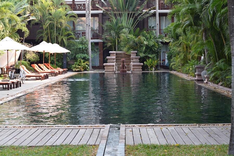 La Résidence d'Angkor en Camboya