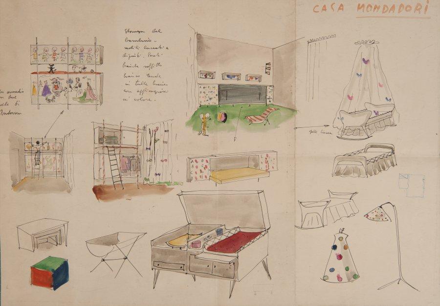 Los dibujos de Lina Bo Bardi